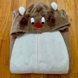 JCPenny Adult XL Reindeer Onesie